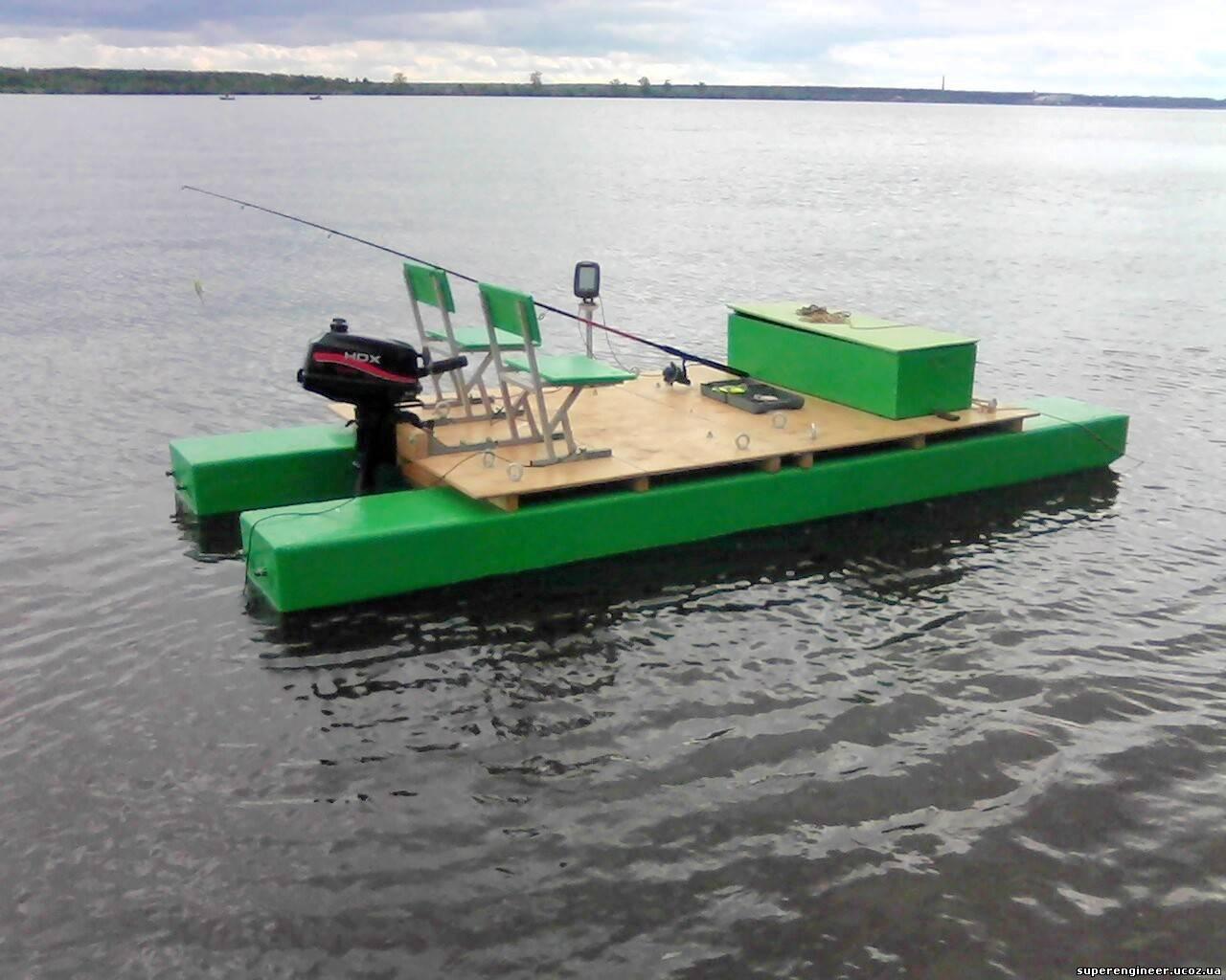 лодки и катамараны самоделки