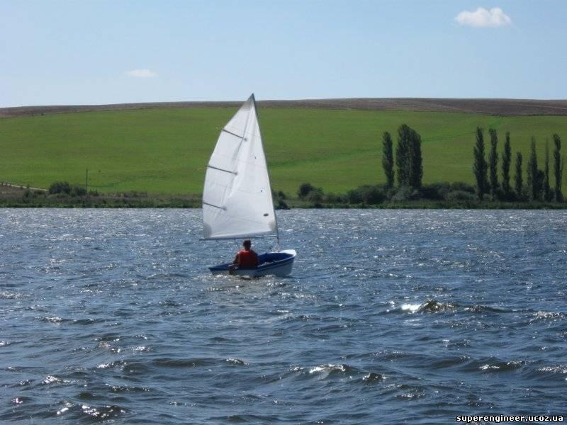 Правила пользования парусной лодкой.