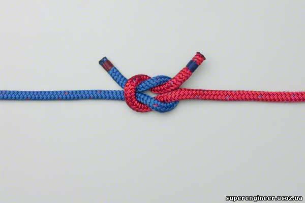 Два конца веревки как связать